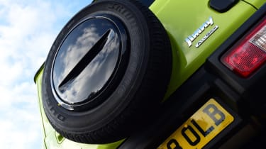 Suzuki Jimny - spare wheel