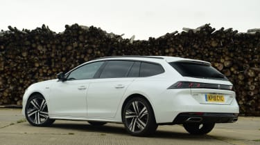 Peugeot 508 SW estate rear static