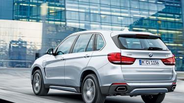BMW X5 xDrive40e - rear action