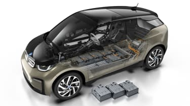 New updated BMW i3 cells