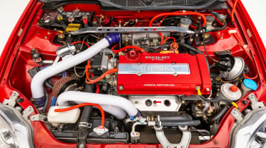 Honda Civic Si Heritage Super Street - engine