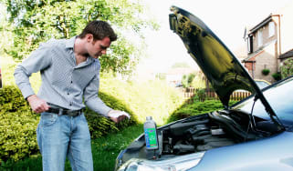 How to check and top up oil - header