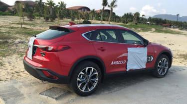 Mazda CX-4 side rear