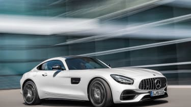 Mercedes-AMG GT - front