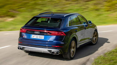 Audi SQ8 - rear action