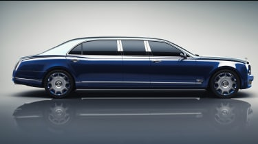 Bentley Mulsanne Grand Limousine by Mulliner side