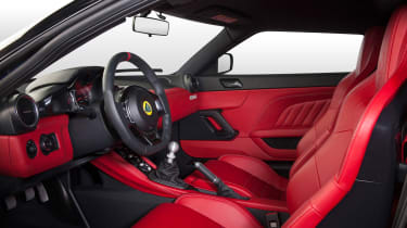Lotus Evora Hethel Edition 400 - hi res interior