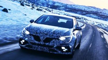 New Megane RS cold weather teaser - front