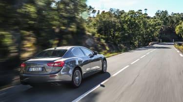 Maserati Ghibli 2016 rear