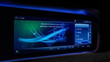 Mercedes S-Class - infotainment