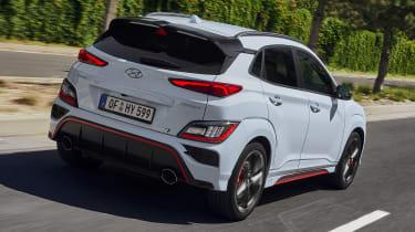 Hyundai Kona N - rear