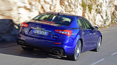 Maserati Ghibli facelift - rear