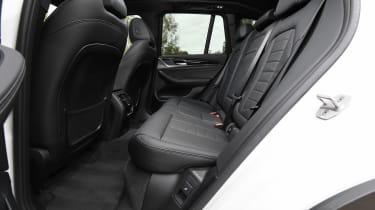 BMW iX3 - rear seats