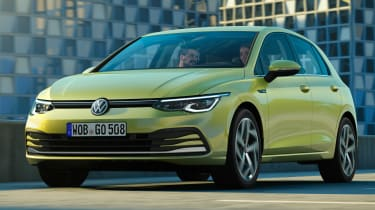 Volkswagen Golf - front tracking