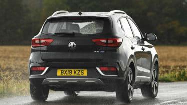 MG ZS EV - rear action