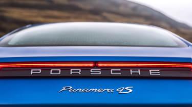 Porsche Panamera 4S diesel - rear detail