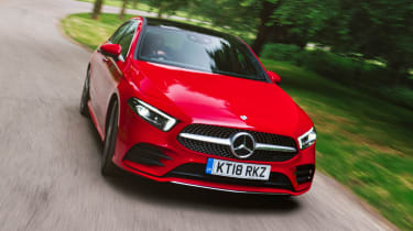 Mercedes A 250 AMG Line - front tracking