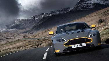 Aston Martin V12 Vantage S 2016 - mountains