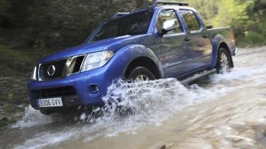 The Navara provides a good alternative to a van.