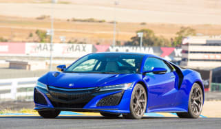 New Honda NSX 2015 driving
