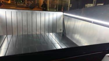 Tesla Cybertruck - reveal load bay