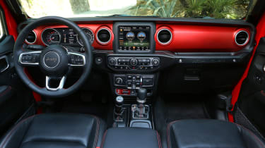 New Jeep Wrangler Rubicon - interior