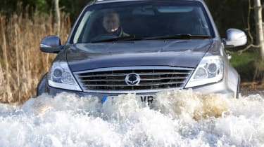 SsangYong Rexton W in action