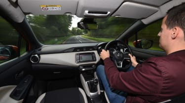 Long term Nissan Micra - second report - interior action