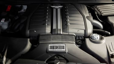 Bentley Bentayga Speed - engine