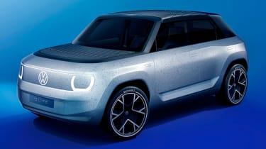 Volkswagen ID Life - front blue