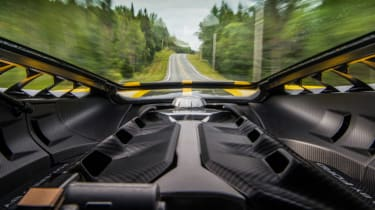 Ford GT Norway road trip - engine bay