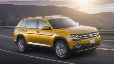 Volkswagen Atlas - front