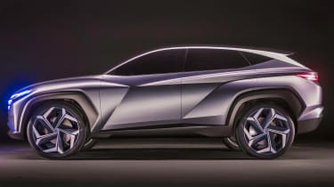 Hyundai Vision T - side static
