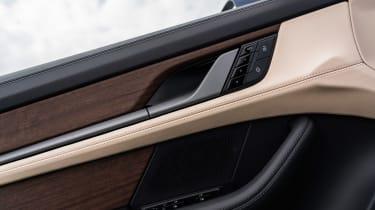 Porsche Taycan Turbo S - door detail
