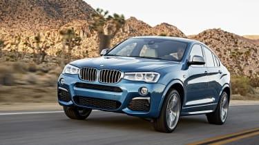 BMW X4 M40i front side