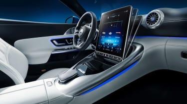 Mercedes SL interior - interior