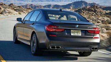 BMW 7 Series 760Li - rear tracking