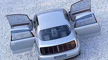 GM Hy-Wire - rear
