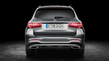 Mercedes GLC static rear