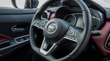 Nissan Micra 2017 petrol - steering wheel