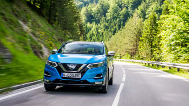 New Nissan Qashqai 2017 review nose