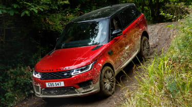 Range Rover Sport - front off-road