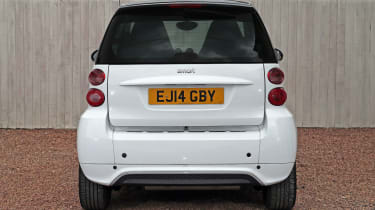 Used Smart ForTwo - full rear