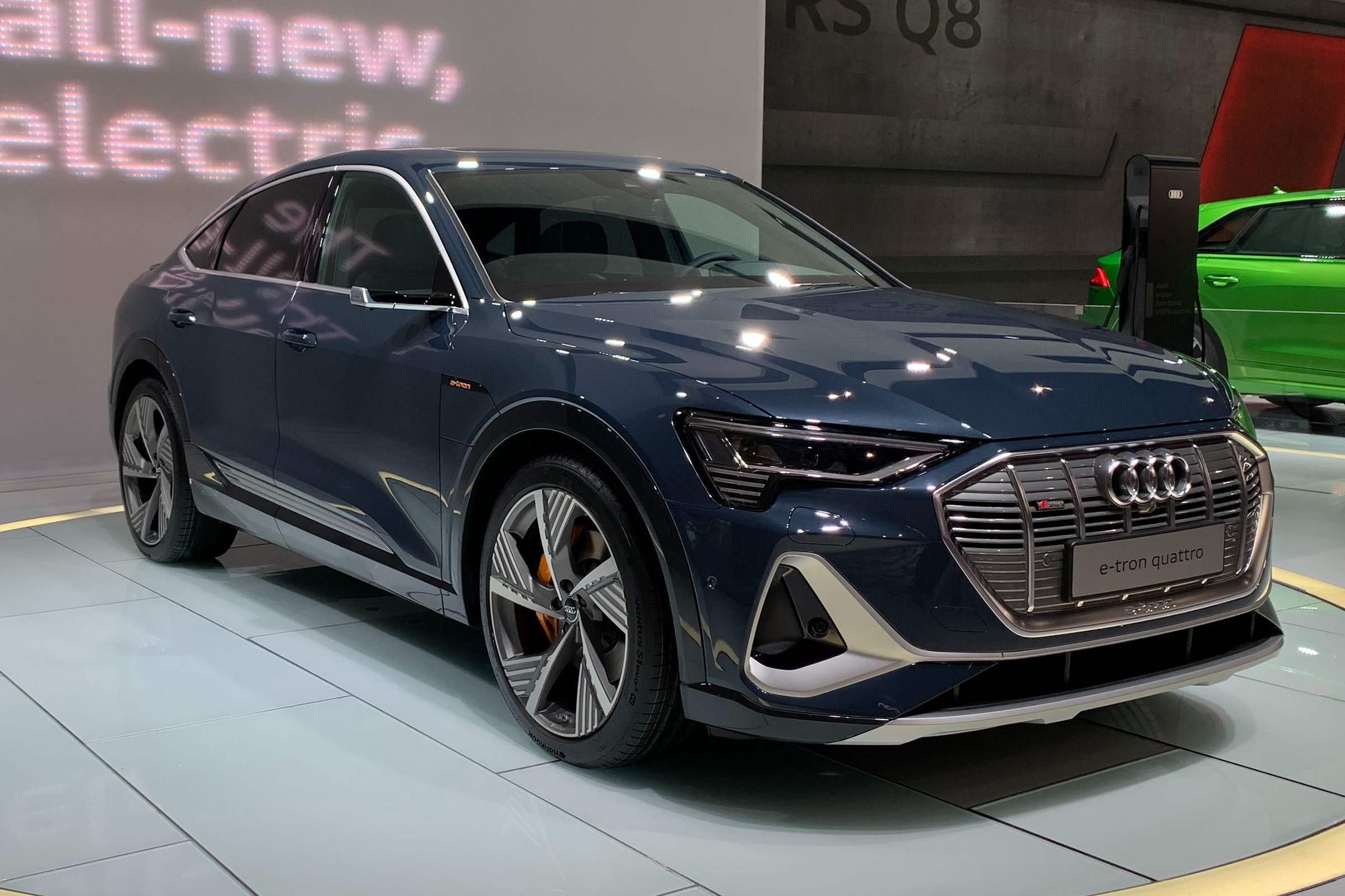 Audi E Tron Sportback Range Launches In Uk From 79 900 Auto Express