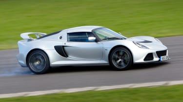 Lotus Exige S front cornering
