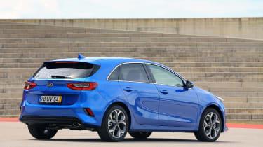 Kia Ceed - rear static