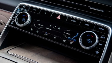 Genesis GV80 - controls