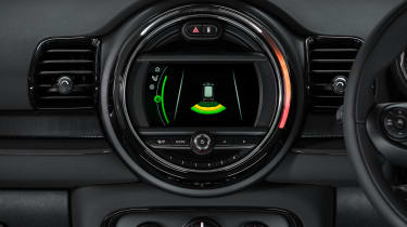 MINI Clubman City - infotainment