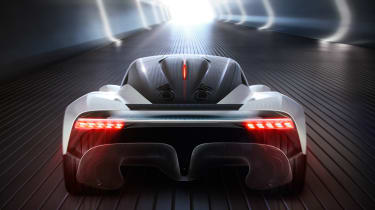 Aston Martin 003 concept - full rear