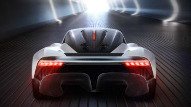 Aston Martin 003 concept - full rear